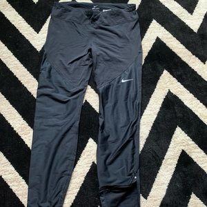 Nike shield fleece lined leggings